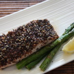Broil Salmon with Zaatar