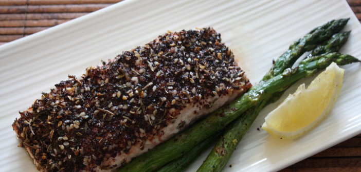Za'atar Crusted Salmon